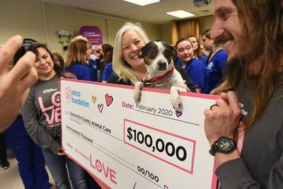Greenville County Animal Care in South Carolina was surprised with a $100,000 investment to support their lifesaving work.