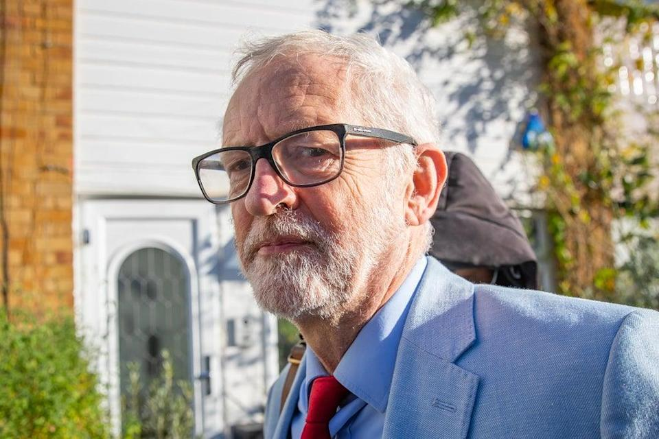 Former Labour leader Jeremy Corbyn. (Aaron Chown/PA) (PA Archive)