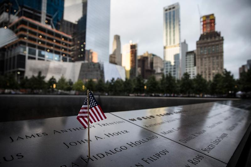 The 9/11 Memorial site in New York (AFP Photo/Andrew Burton)