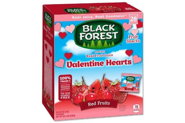 Valentines Candy Ranked blackforest