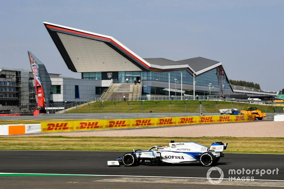 "George Russell, Williams FW43<span class=""copyright"">Mark Sutton / Motorsport Images</span>"