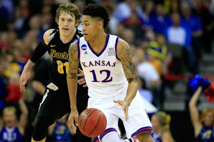 Kelly Oubre spent one year at Kansas before heading to the NBA. (Getty)