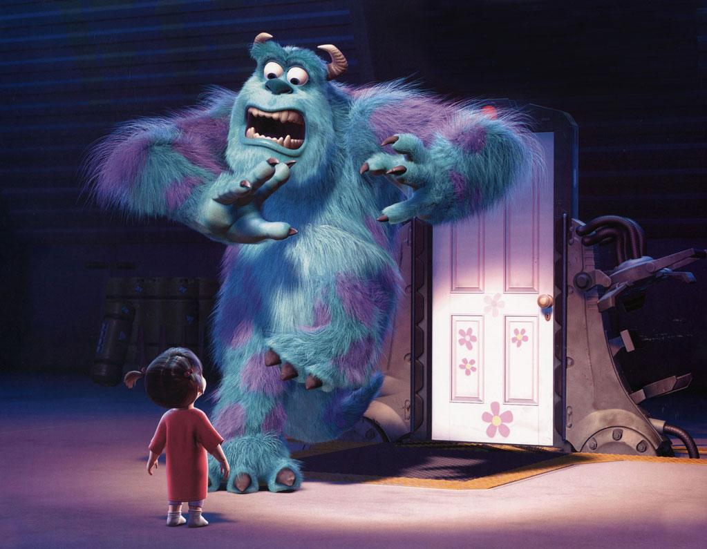 """Character: Sully (<a href=""""http://movies.yahoo.com/movie/contributor/1800016364"""">John Goodman</a>)   Movie: <a href=""""http://movies.yahoo.com/movie/1804090611/info"""">Monsters Inc.</a>   Reason Why He Is Blue: Blue is the best color for terrifying young children in the middle of the night."""