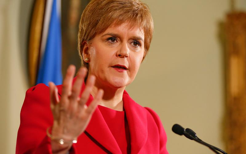 Nicola Sturgeon has set out a plan for another referendum - SG