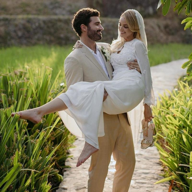 "Things got off to a rocky start for former The Hills star (and one of the least paparazzi-plagued Kardashian-Jenners) Brody Jenner and blogger Kaitlynn Carter and their destination wedding in Indonesia. There were reports that only one of two of Jenner's parents would be attending, seeing as Caitlyn Jenner apparently had ""previously scheduled work commitments""—which turned out to be letting loose at a charity event that also happens to be a bacchanal—and Jenner himself admitted that he never heard back from his half-sisters Kendall and Kylie regarding their RSVPs. By the time they'd holed up in a treehouse on the island of Niki Sumba for a week, though, all seemed to have been forgotten for the couple, who held a beachside ceremony on what they came to call ""#jennerisland."""
