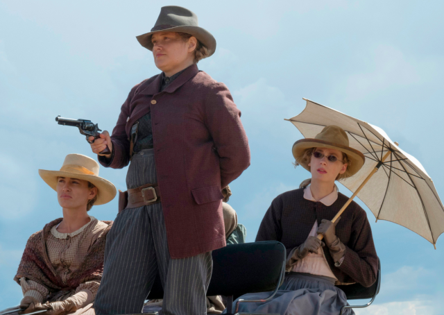 Merritt Wever, center, leads the ladies of La Belle as Mary Agnes. (Photo: Ursula Coyote/Netflix)