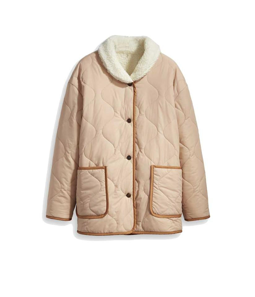 "<p>Quilted Liner Jacket, $270, <a rel=""nofollow"" href=""https://fave.co/2pYvRVp"">levi.com</a> </p>"