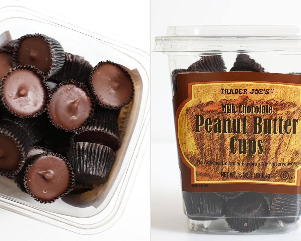 <p>Creamy and delicious, these cups are hands down, 1,000 times better than Reese's Peanut Butter Cups.</p>