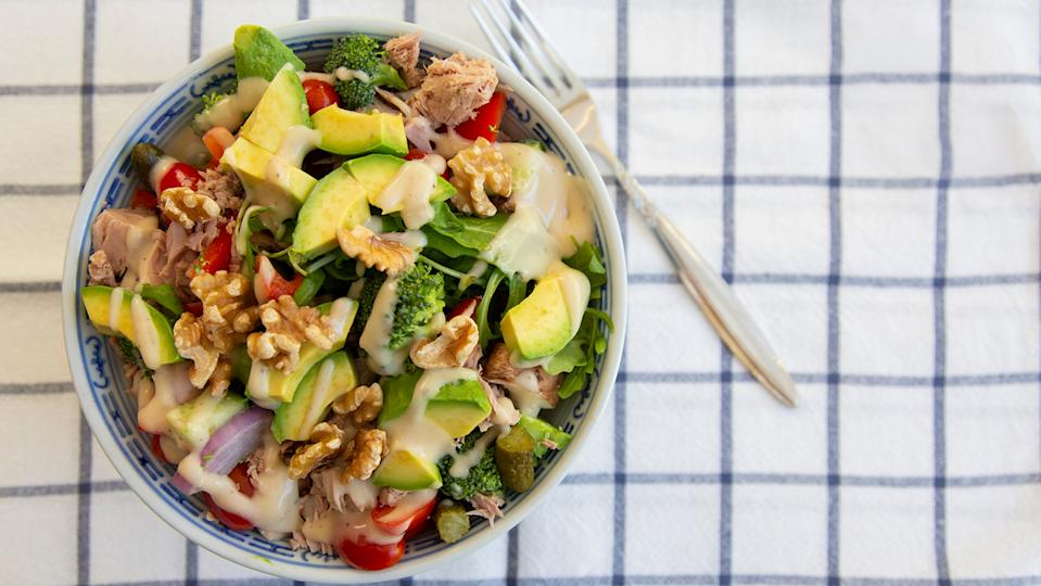 Dr Sarah Schenker advises including roughage like avocado, broccoli and nuts into your diet to prevent constipation (Image: Getty Images)