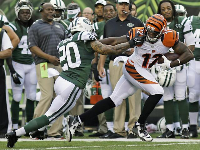 With Jones out, Sanu is no longer a blip on the fantasy radar. (AP)
