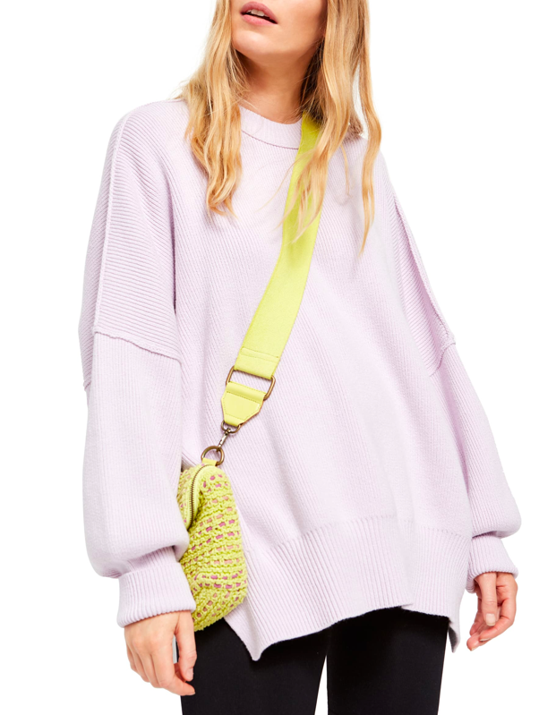 "Stay warm for the remainder of winter while welcoming the season ahead with this pretty pastel hue. $128, Nordstrom. <a href=""https://shop.nordstrom.com/s/free-people-easy-street-tunic/5285638/full"">Get it now!</a>"