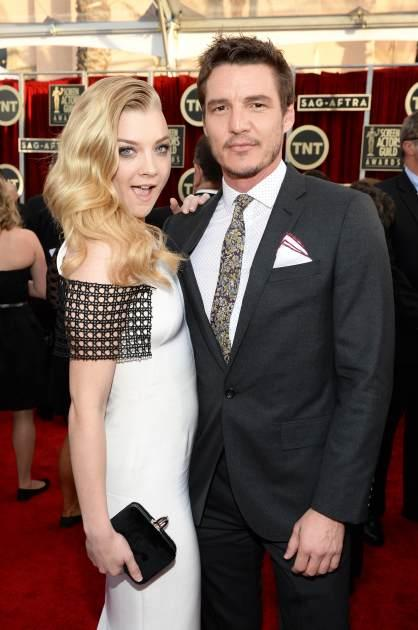 Natalie Dormer and Pedro Pascal attend 20th Annual Screen Actors Guild Awards at The Shrine Auditorium on January 18, 2014 in Los Angeles -- Getty Images