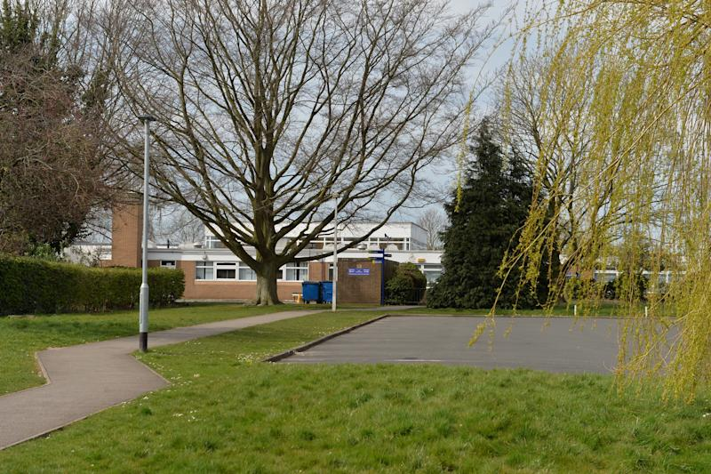 Offley Primary Academy in Sandbach, Cheshire, where Patryk Milner fell ill last week before later dying in hospital. (Reach)