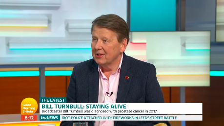Bill Turnbull was a guest on GMB (Credit: ITV)