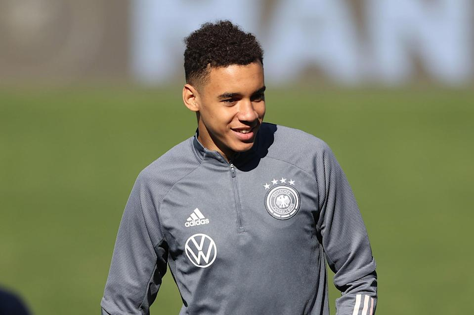 Germany's Jamal Musiala represented England at Under-21 level (Getty Images)