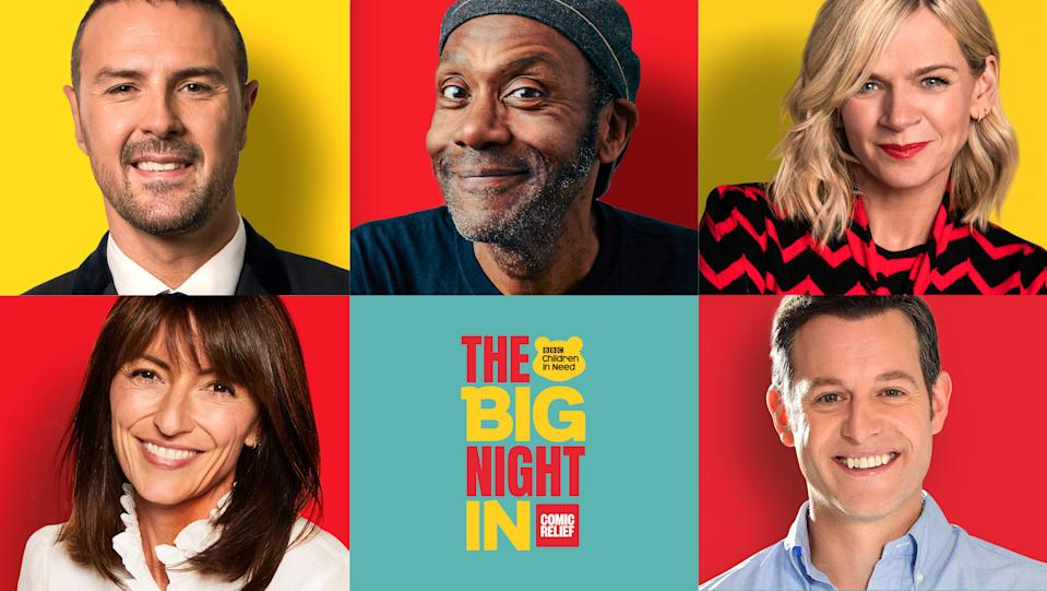 The Big Night In is bringing Comic Relief and Children in Need together to raise funds. (BBC)