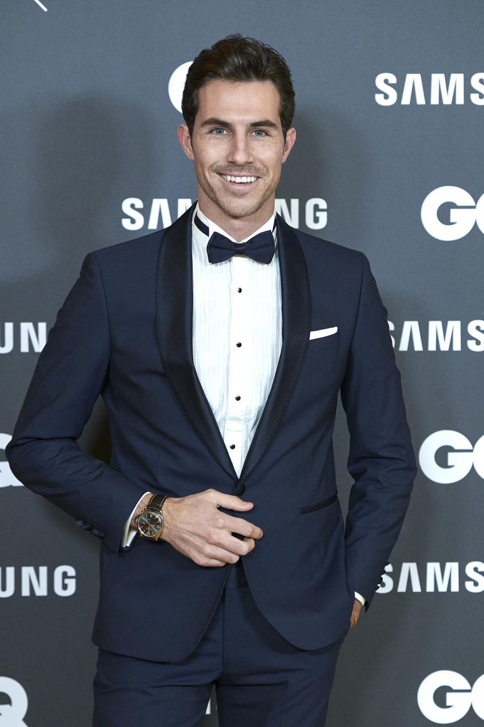 Beltran Lozano attends the GQ Men Of The Year Awards 2019 photocall at The Westin Palace Hotel in Madrid, Spain on Nov 21, 2019 (Photo by Carlos Dafonte/NurPhoto via Getty Images)