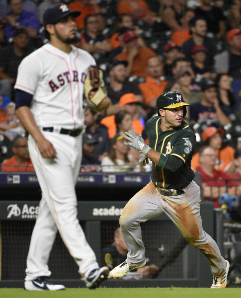 Athletics Tigers Game Suspended In 7th With A S Up 5 3: LEADING OFF: A's-Astros Wrap Series, Mets-Cubs Finish Up