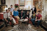 """<p>When <em>Glamour</em> entertainment editor Christopher Rosa saw Ryan Murphy's Netflix adaptation of the Broadway play about a group of gay men in the 1960s who gather for a birthday party, he called it a tough—but necessary—watch. """"It shows just how far the gay community has come,"""" he wrote in his <a href=""""https://www.glamour.com/story/netflix-the-boys-in-the-band-review?mbid=synd_yahoo_rss"""" rel=""""nofollow noopener"""" target=""""_blank"""" data-ylk=""""slk:review"""" class=""""link rapid-noclick-resp"""">review</a> at the time. """"And, sadly, what still hasn't changed."""" </p> <p><a href=""""https://www.netflix.com/title/81000365"""" rel=""""nofollow noopener"""" target=""""_blank"""" data-ylk=""""slk:Available to stream on Netflix"""" class=""""link rapid-noclick-resp""""><em>Available to stream on Netflix</em></a></p>"""