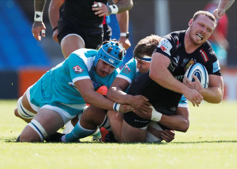 Exeter, Racing dominate European Player of the Year shortlist