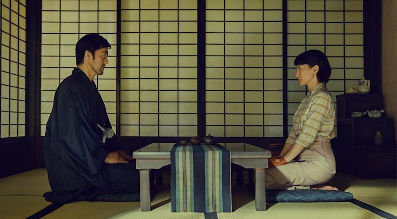 Hiroshi Abe and Angelica Lee Sinje in The Garden Of Evening Mists. (Photo: HBO Asia)