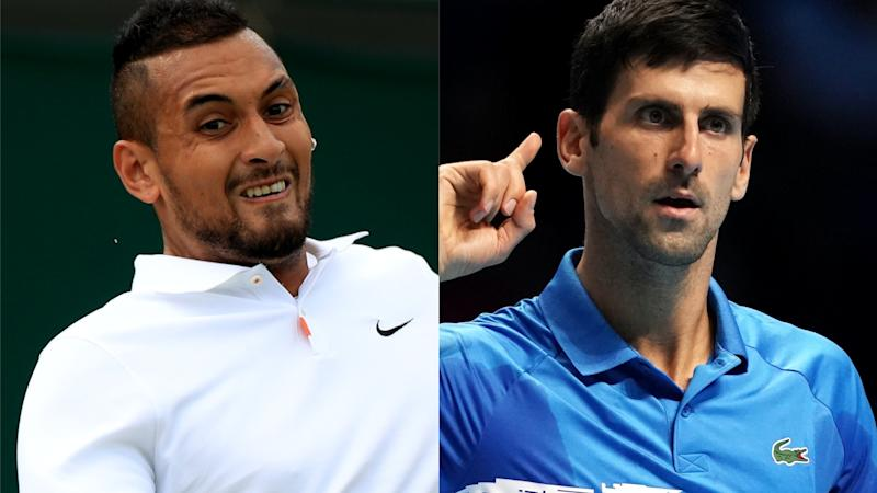 Nick Kyrgios accuses Novak Djokovic of lacking 'leadership and humility'