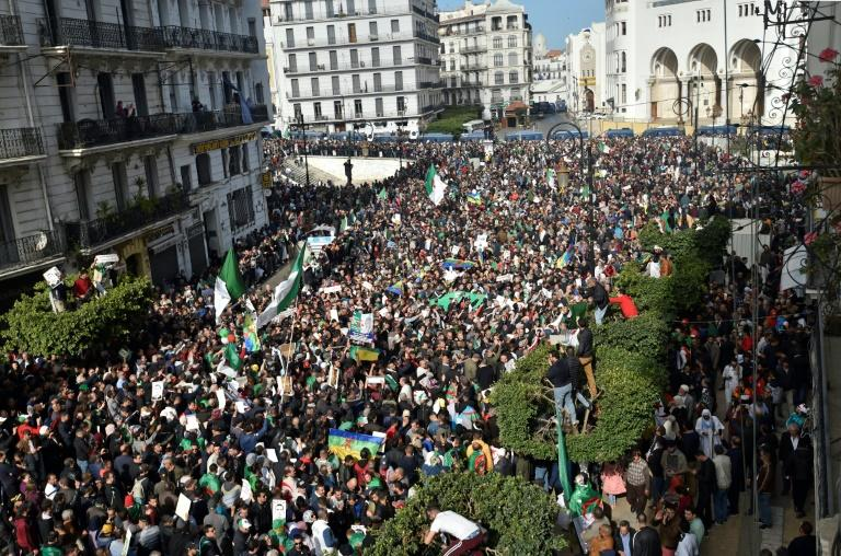 Algerians mobilise to mark the first anniversary of a popular protest movement that has forced an ailing veteran president to step down
