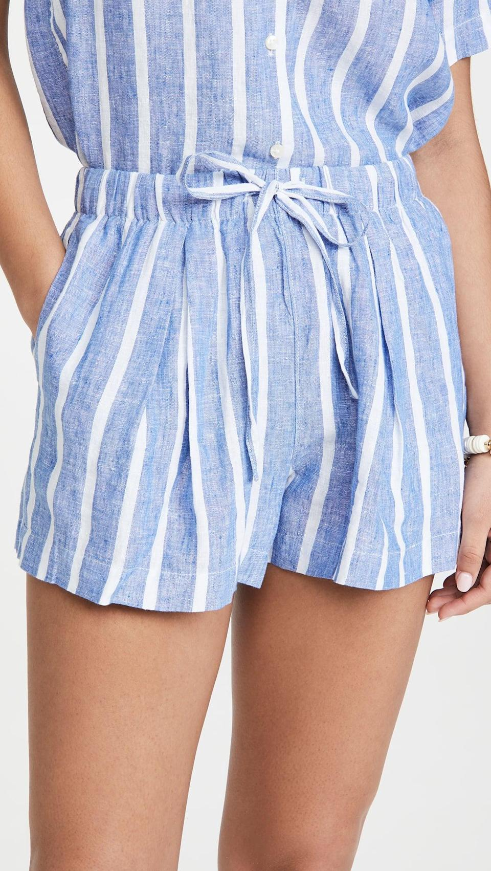 <p>These <span>Birds of Paradis Ione Shorts</span> ($188) feel like all things summer.</p>