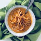 """<p>The interwebs are overflowing with copycat recipes for Max & Erma's tortilla soup. It's easy to see that this Southwestern soul-warmer is the chain's big draw. It's got chicken and cheese """"<a href=""""https://www.maxandermas.com/menu/"""" rel=""""nofollow noopener"""" target=""""_blank"""" data-ylk=""""slk:with a spicy kick"""" class=""""link rapid-noclick-resp"""">with a spicy kick</a>,"""" and it's topped with tortilla strips for a bit of crunch. You can get it in a bowl, a cup, or a cup with your meal, so no matter what you're in the mood to eat at Max & Erma's, tortilla soup is probably going to be part of it.</p>"""
