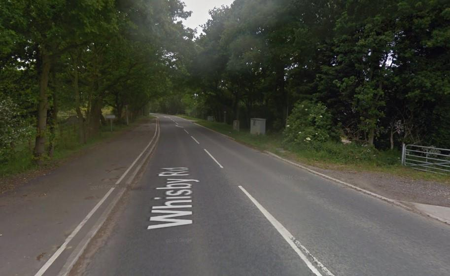 The crash happened on Whisby Road, in Lincoln. (Google Maps)