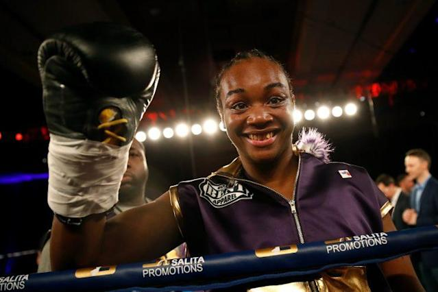 Two-time Olympic gold medalist Claressa Shields (Getty Images)