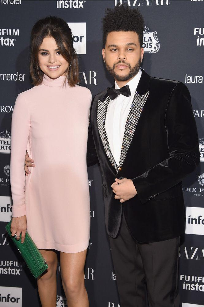 Selena Gomez and The Weeknd, 2017   Dimitrios Kambouris/Getty Images