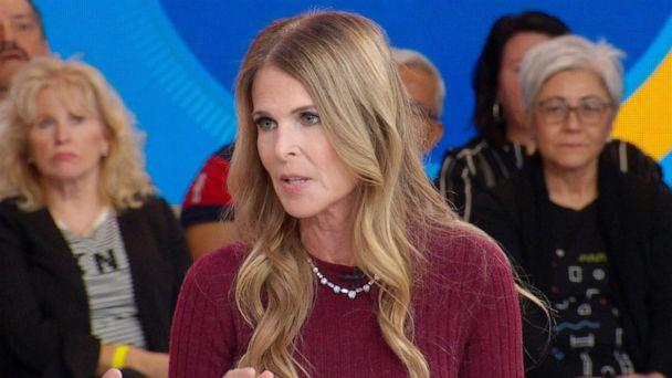 PHOTO: Catherine Oxenberg appears on 'Good Morning America,' Sept. 18, 2019. (ABC News)