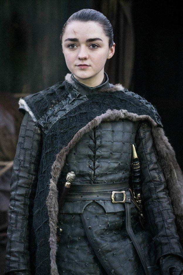 Maisie Williams as Arya Stark (HBO)