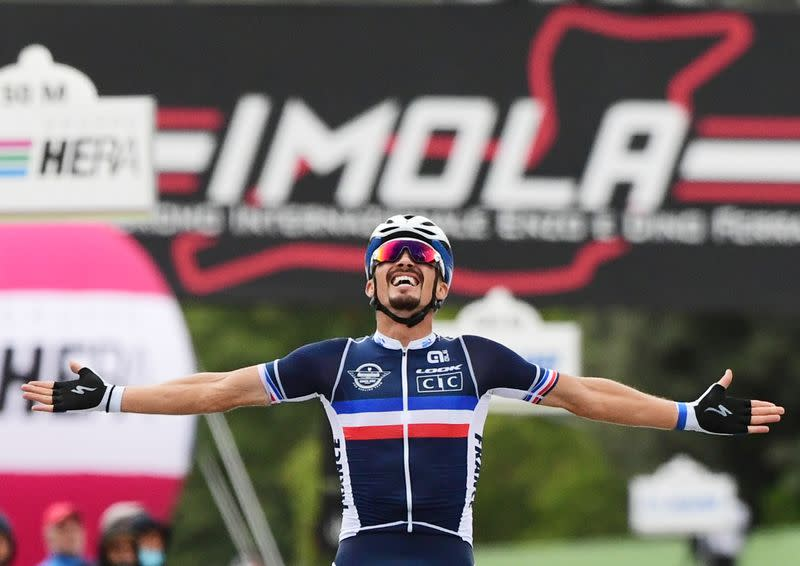 Cycling: Alaphilippe executes perfect plan to become road race world champion