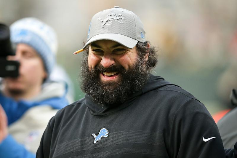 Lions coach Matt Patricia went 6-10 in his first season with the Detroit Lions. (Getty Images)