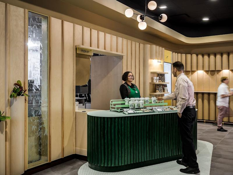 This Next-Generation Starbucks Store Is the First of Its Kind