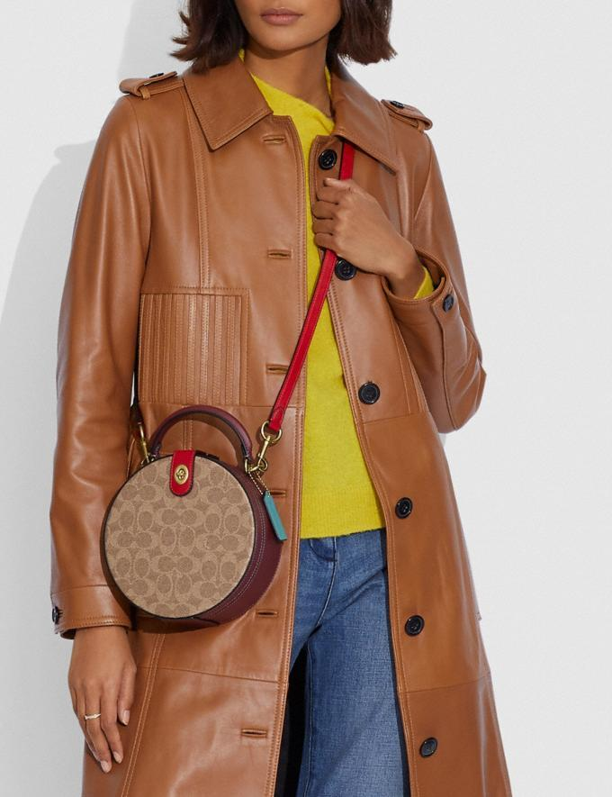 Lunar New Year Circle Bag In Signature Canvas. Image via Coach.