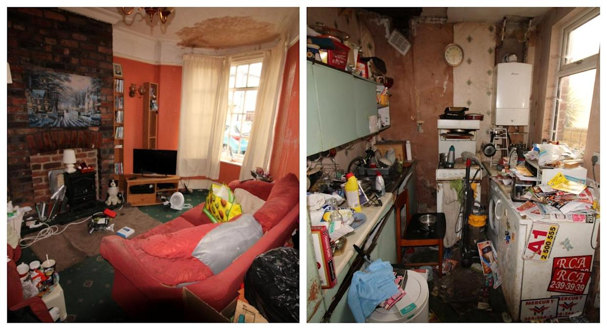 The house will take a fair bit of redecorating (SWNS)