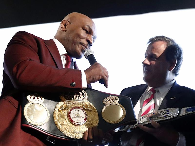 Mike Tyson and Chris Christie