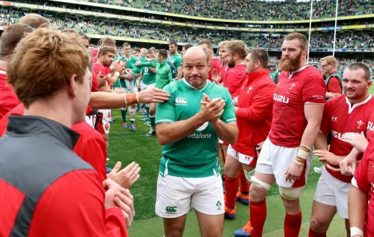 Ireland's captain Rory Best was given a standing ovation in his final home Test earlier this month (AFP Photo/Paul Faith)