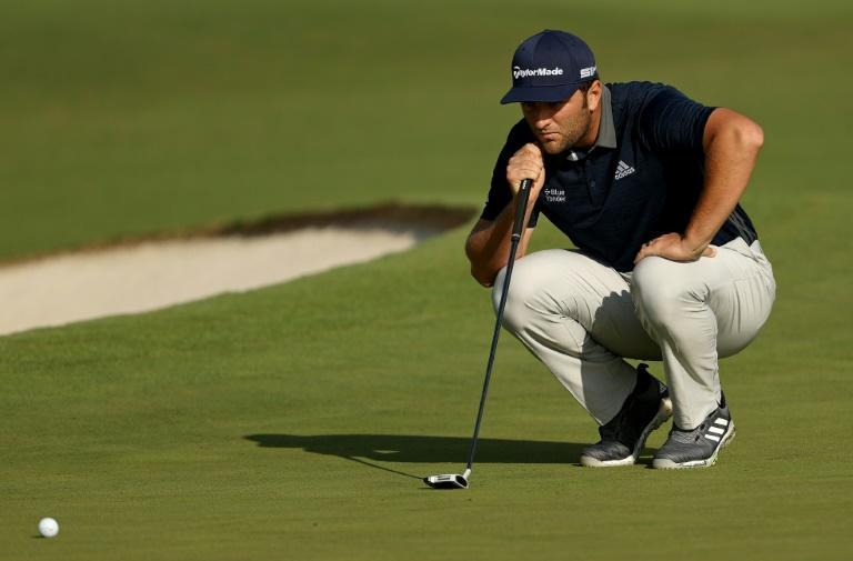 Spain's Jon Rahm says he will leave if he gets the word that his wife is about to give birth to their first child and she's due the weekend of the Masters