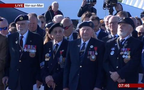D-Day veterans - Credit: BBC