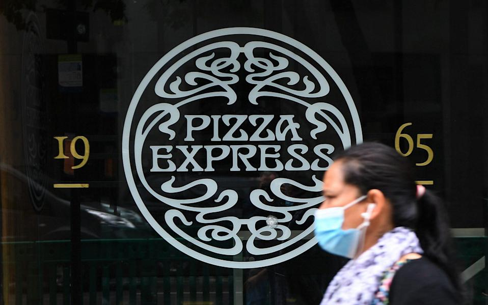 A Pizza Express restaurant in London