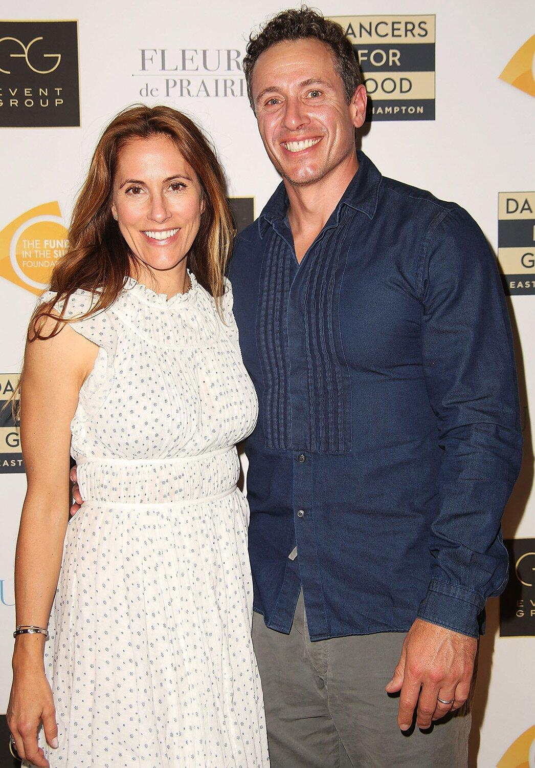 Chris Cuomo Says He U0026 39 S U0026 39 Sick Of Being Sick U0026 39 As Wife Opens