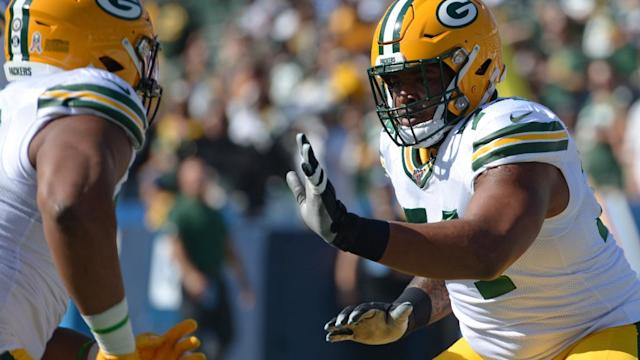 Packers rookie Elgton Jenkins has been a pass-protecting star