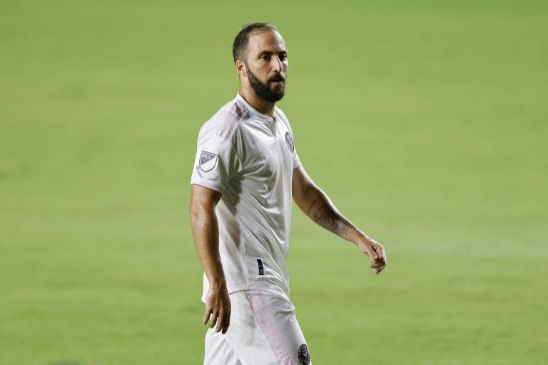 Inter Miami star Gonzalo Higuain has tested positive for Covid-19 and will his team's opening MLS play-off game, US media reported Friday