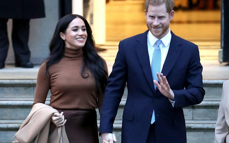 The Duke and Duchess of Sussex said they will work to become financially independent - Chris Jackson Collection