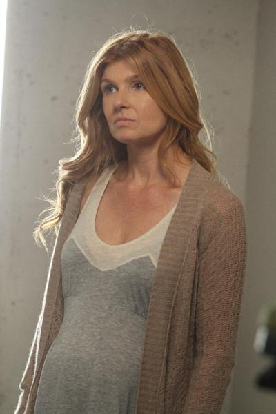 "This undated image released by FX shows Connie Britton in a scene from ""American Horror Story."" On Thursday, July 19, 2012 ""American Horror Story"" received 17 Emmy nominations including a nomination for outstanding lead actress in a miniseries or a movie. The 64th annual Primetime Emmy Awards will be presented Sept. 23 at the Nokia Theatre in Los Angeles, hosted by Jimmy Kimmel and airing live on ABC. (AP Photo/FX, Mike Ansell)"
