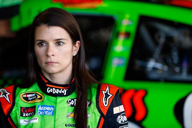 """<a class=""""link rapid-noclick-resp"""" href=""""/nascar/nationwide/drivers/1311"""" data-ylk=""""slk:Danica Patrick"""">Danica Patrick</a> is back with Go Daddy. (Getty)"""